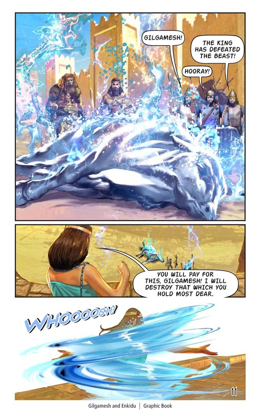 Book Preview For Gilgamesh and Enkidu Page 12