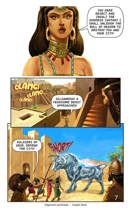 Book Preview For Gilgamesh and Enkidu Page 8