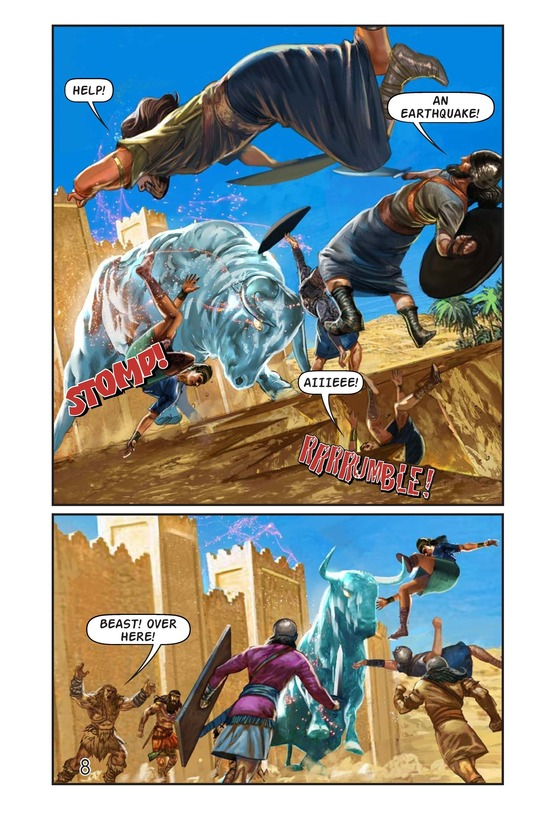 Book Preview For Gilgamesh and Enkidu Page 9