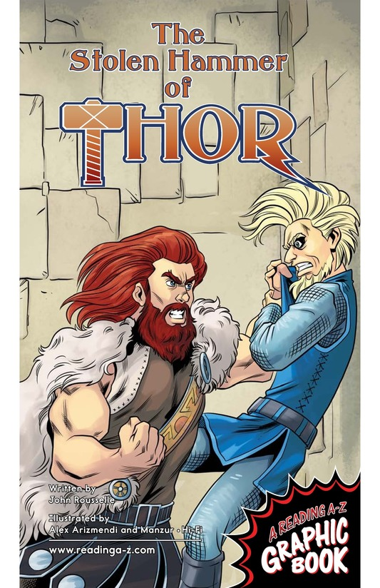 Book Preview For The Stolen Hammer of Thor Page 1