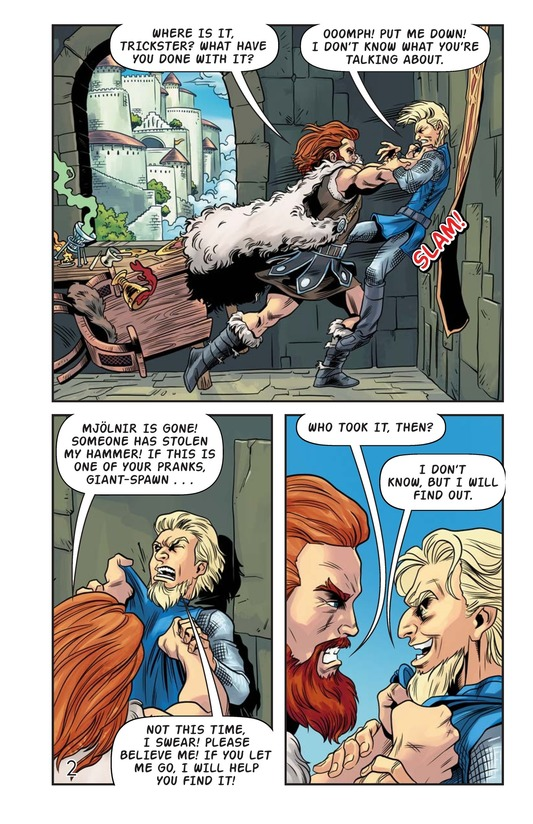Book Preview For The Stolen Hammer of Thor Page 3