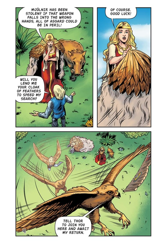 Book Preview For The Stolen Hammer of Thor Page 5