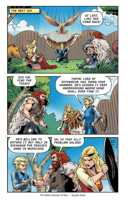 Book Preview For The Stolen Hammer of Thor Page 6
