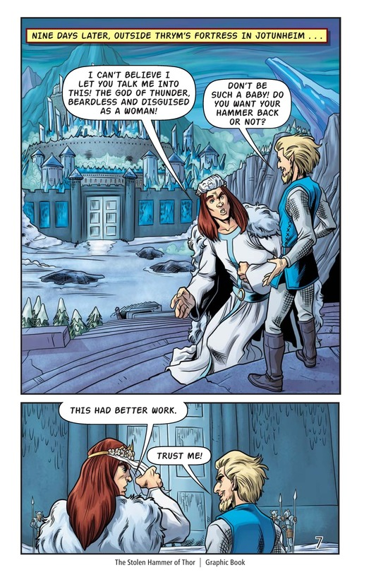 Book Preview For The Stolen Hammer of Thor Page 8