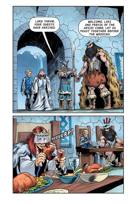 Book Preview For The Stolen Hammer of Thor Page 9