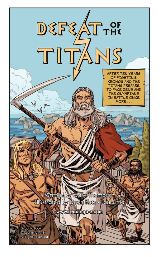 Book Preview For Defeat of the Titans Page 2