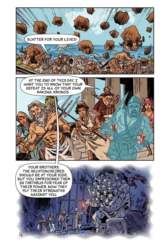 Book Preview For Defeat of the Titans Page 5