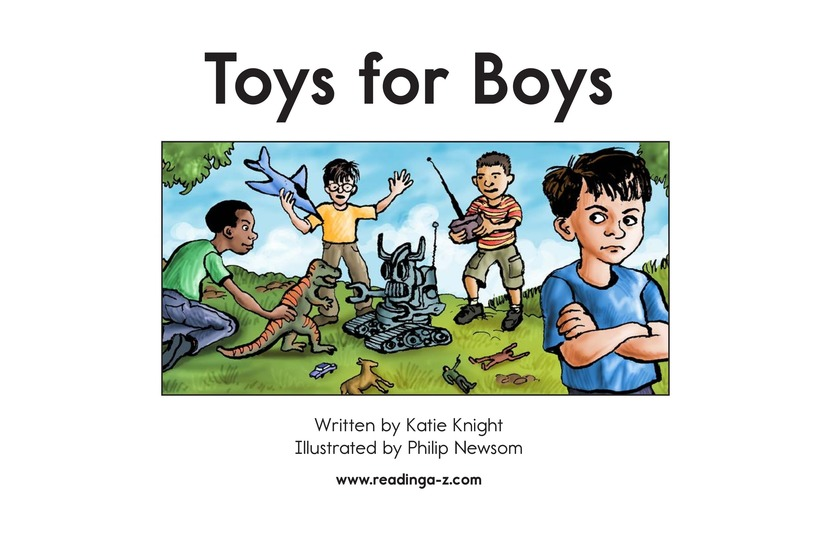 Book Preview For Toys for Boys Page 2