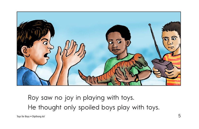 Book Preview For Toys for Boys Page 5