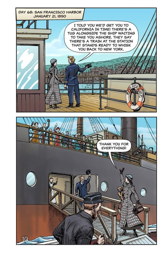 Book Preview For Nellie Bly's Oceanic Voyage Page 11