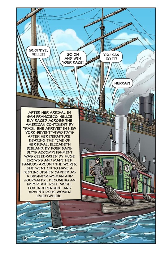 Book Preview For Nellie Bly's Oceanic Voyage Page 13
