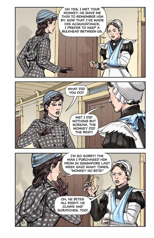 Book Preview For Nellie Bly's Oceanic Voyage Page 7