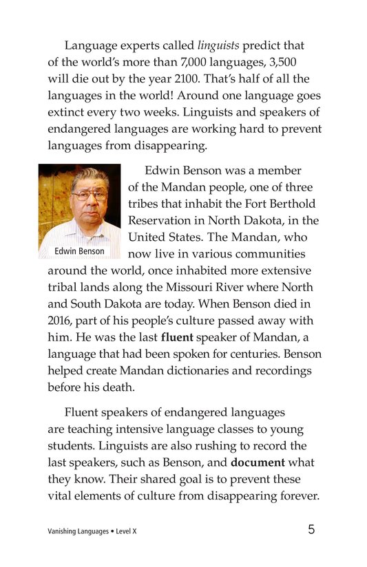 Book Preview For Vanishing Languages Page 5