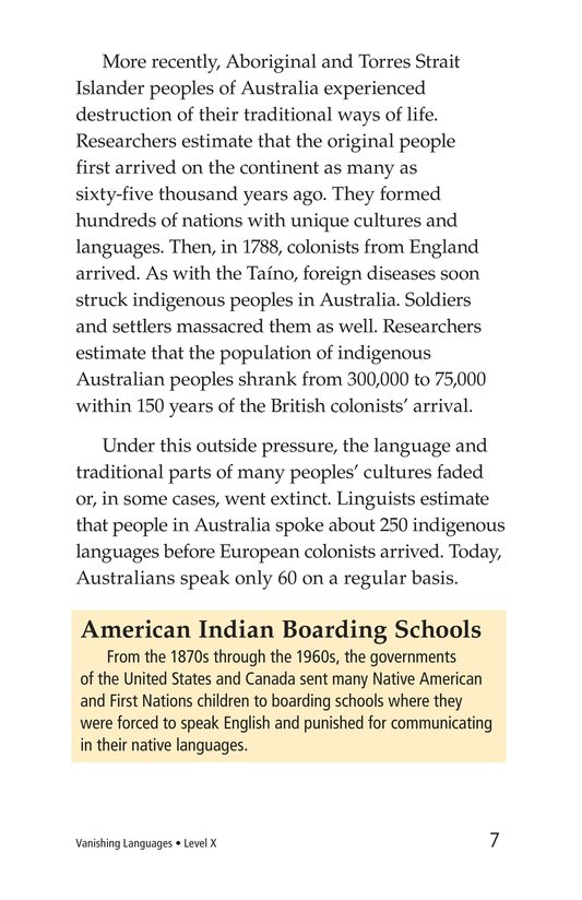 Book Preview For Vanishing Languages Page 7