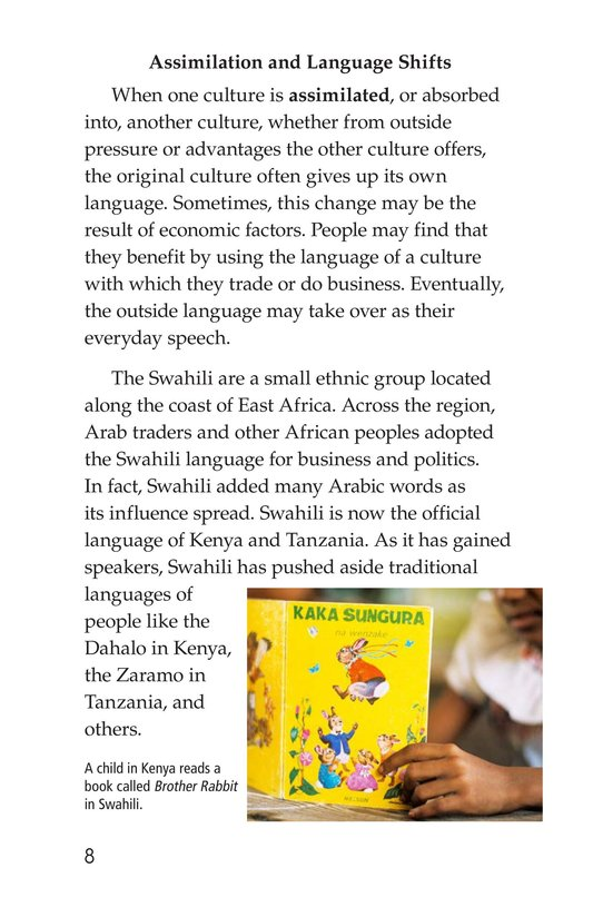 Book Preview For Vanishing Languages Page 8