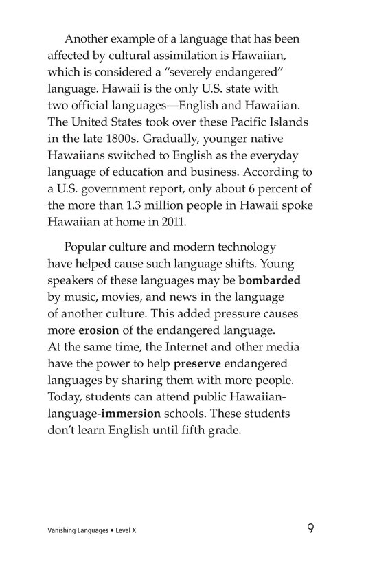 Book Preview For Vanishing Languages Page 9