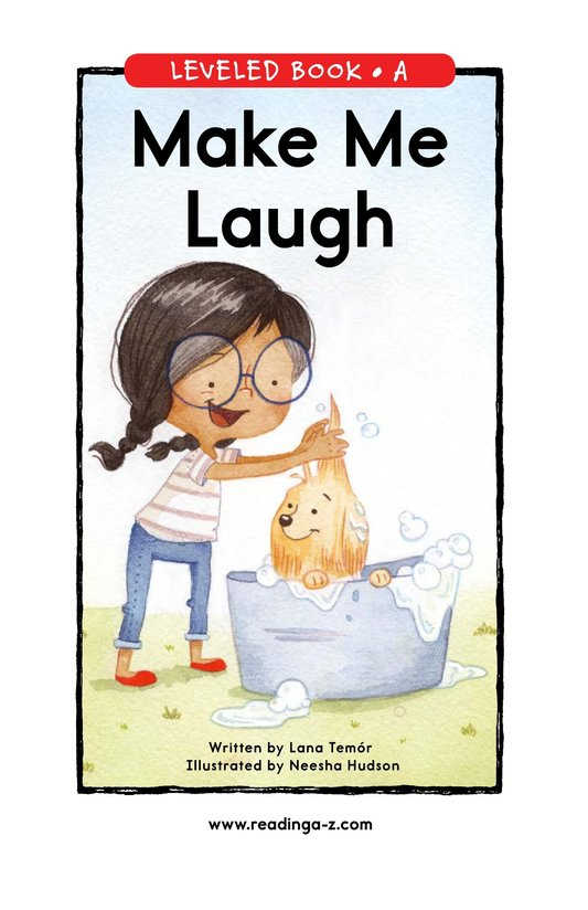 Book Preview For Make Me Laugh Page 0