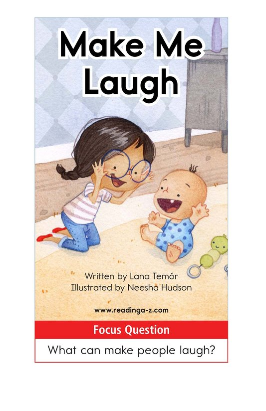 Book Preview For Make Me Laugh Page 1
