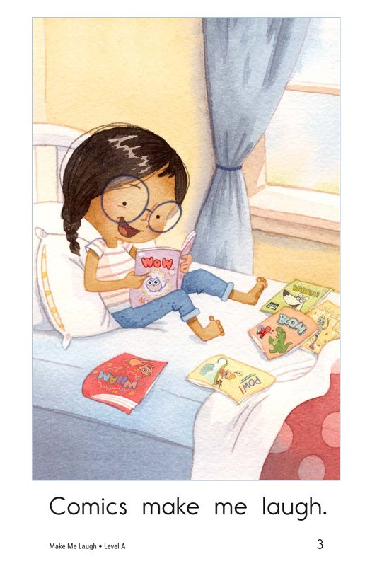 Book Preview For Make Me Laugh Page 3
