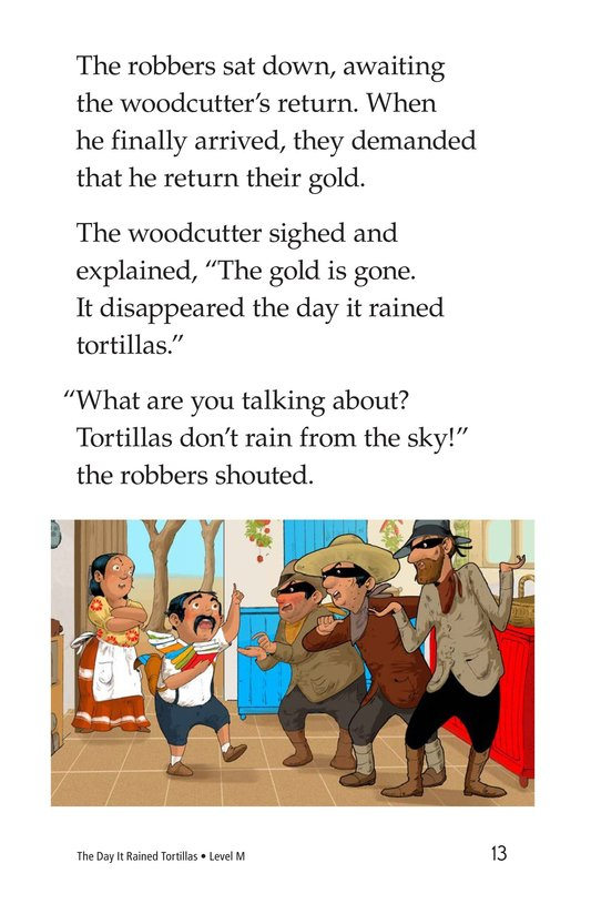 Book Preview For The Day It Rained Tortillas Page 13