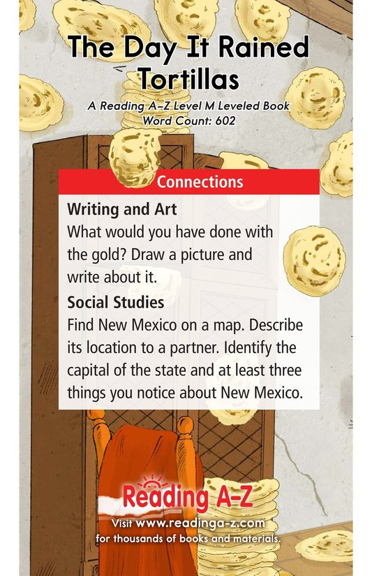 Book Preview For The Day It Rained Tortillas Page 17