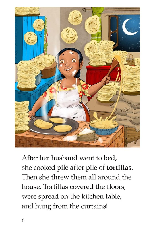 Book Preview For The Day It Rained Tortillas Page 6