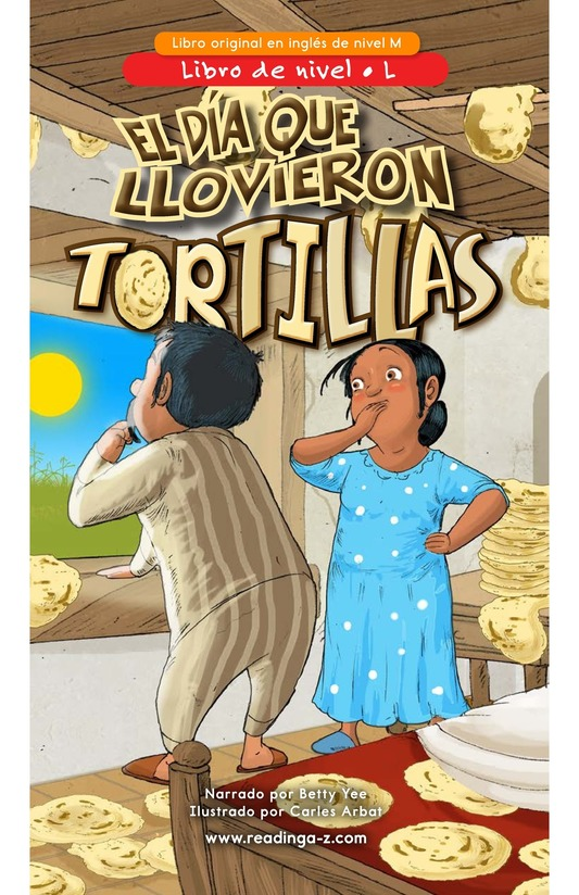 Book Preview For The Day It Rained Tortillas Page 0