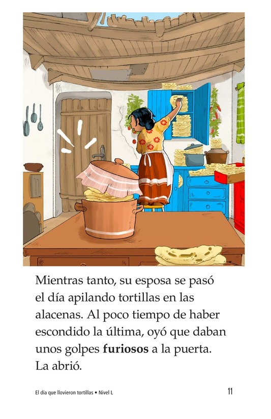Book Preview For The Day It Rained Tortillas Page 11