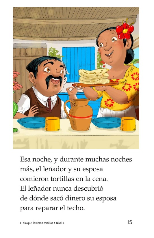 Book Preview For The Day It Rained Tortillas Page 15