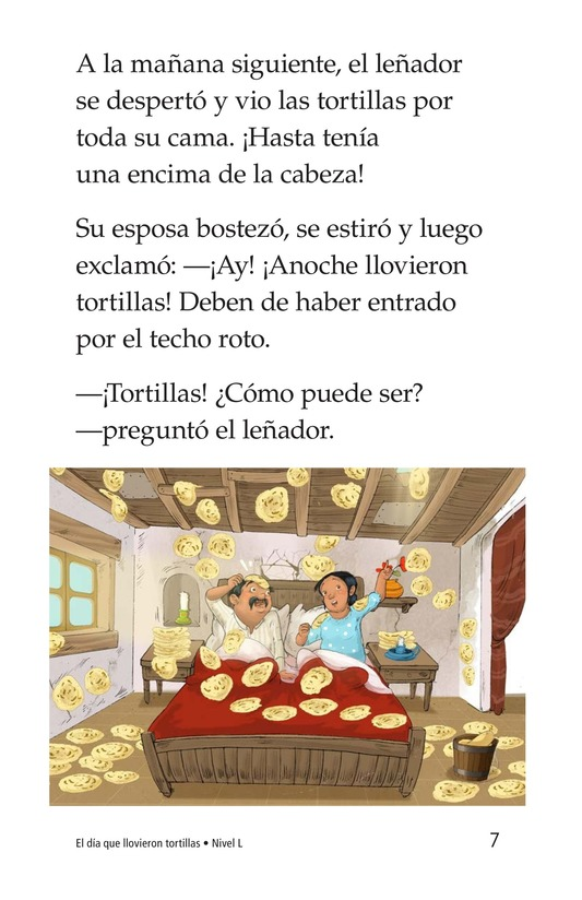 Book Preview For The Day It Rained Tortillas Page 7