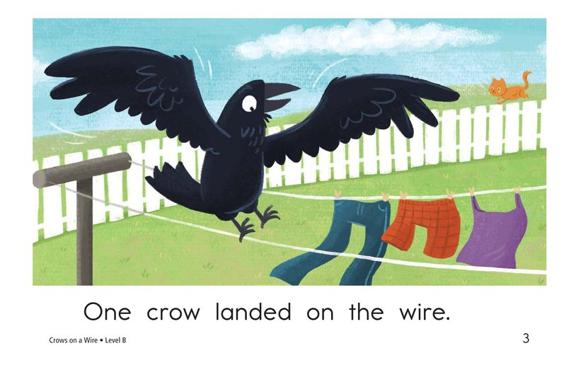 Book Preview For Crows on a Wire Page 3