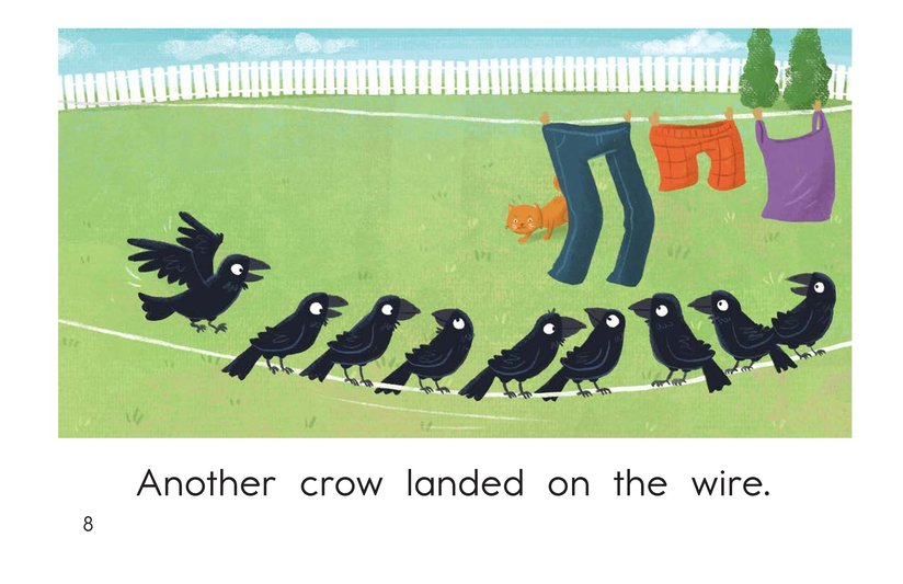 Book Preview For Crows on a Wire Page 8