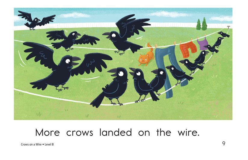 Book Preview For Crows on a Wire Page 9