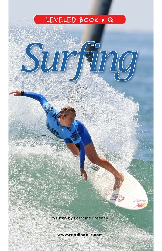Book Preview For Surfing Page 0