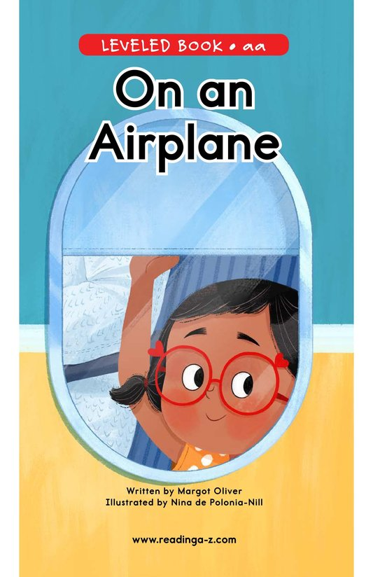 Book Preview For On an Airplane Page 0