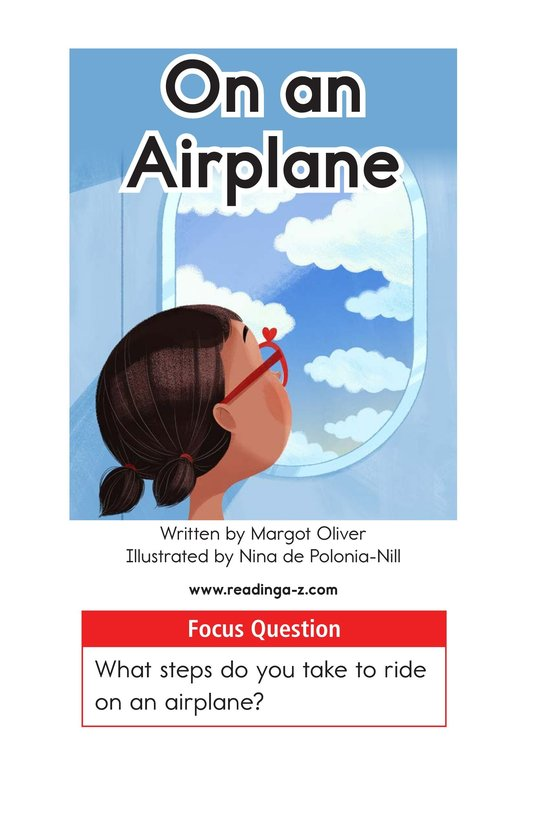 Book Preview For On an Airplane Page 1