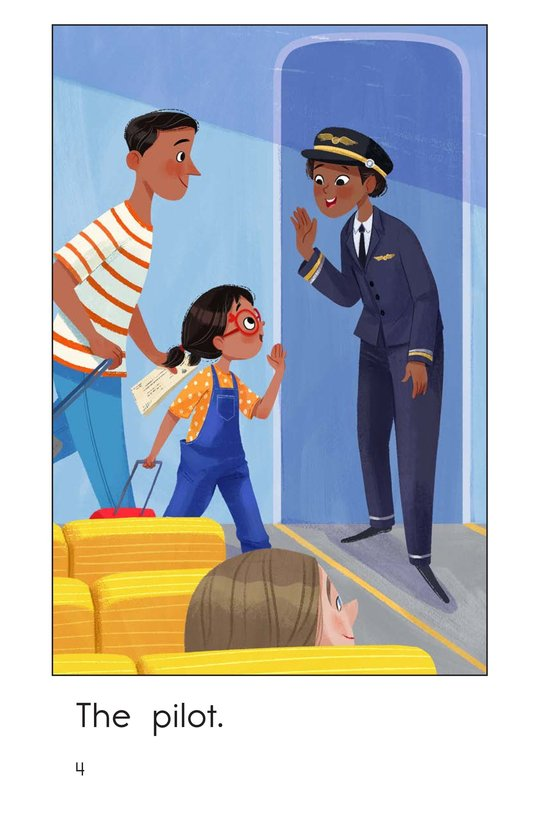Book Preview For On an Airplane Page 4