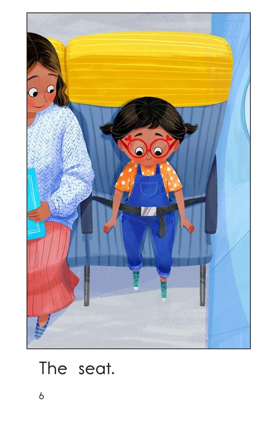 Book Preview For On an Airplane Page 6
