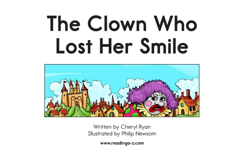 Book Preview For The Clown Who Lost Her Smile Page 2