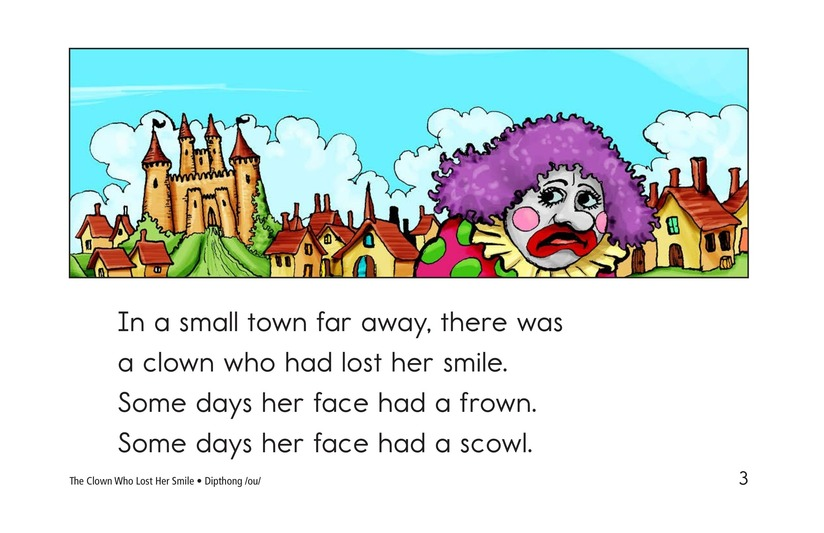 Book Preview For The Clown Who Lost Her Smile Page 3