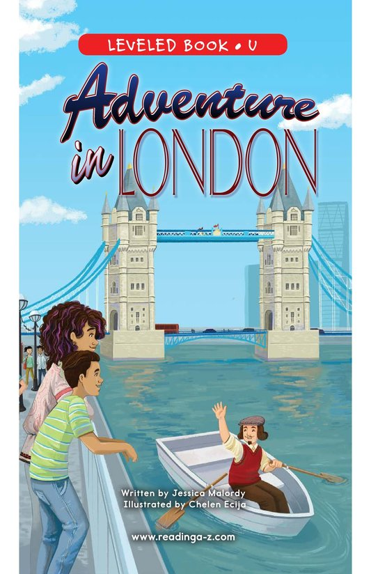 Book Preview For Adventure in London Page 0