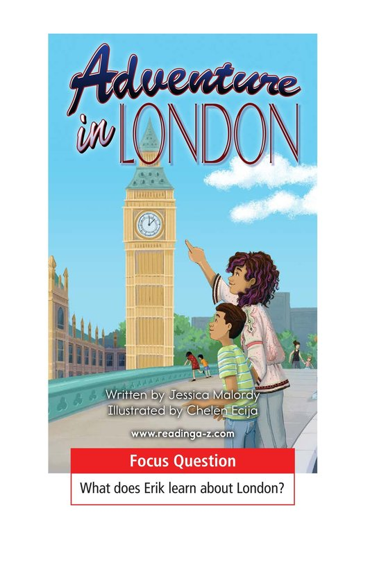 Book Preview For Adventure in London Page 1
