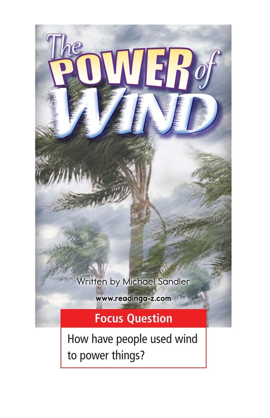 Book Preview For The Power of Wind Page 1