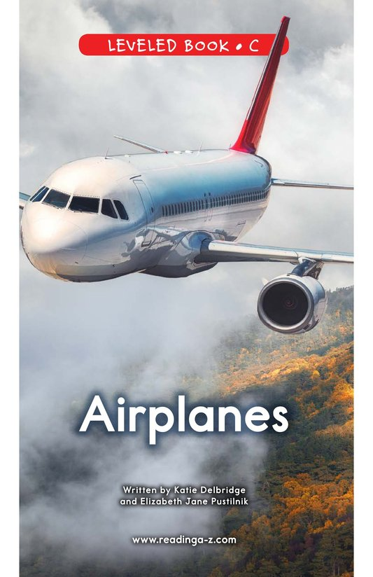 Book Preview For Airplanes Page 0
