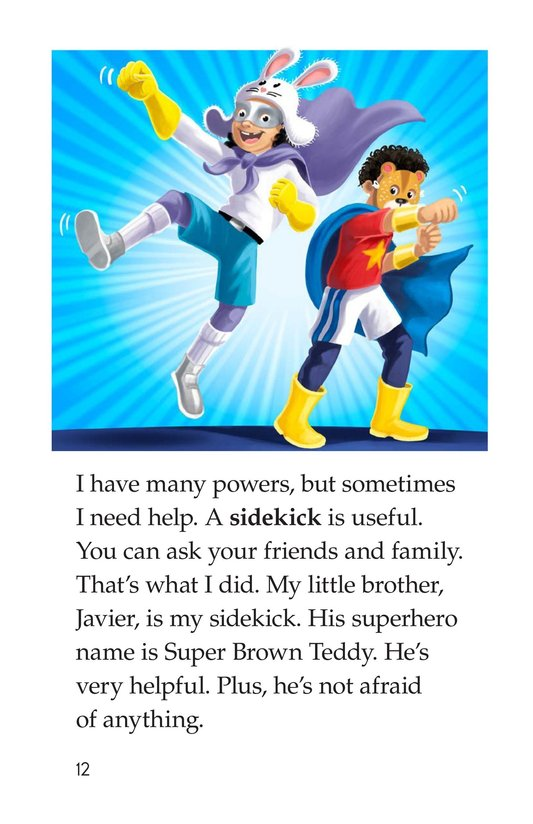 Book Preview For How to Become a Superhero Page 12