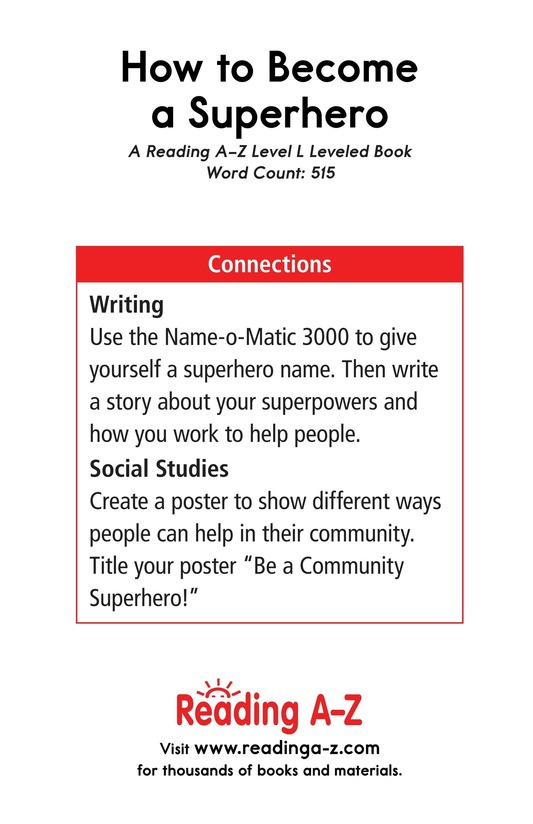 Book Preview For How to Become a Superhero Page 17