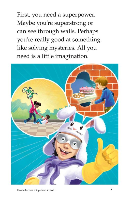 Book Preview For How to Become a Superhero Page 7