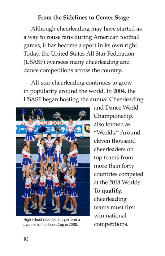 Book Preview For Cheerleading Page 10
