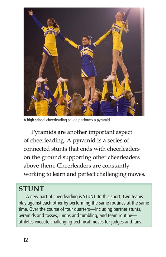 Book Preview For Cheerleading Page 12