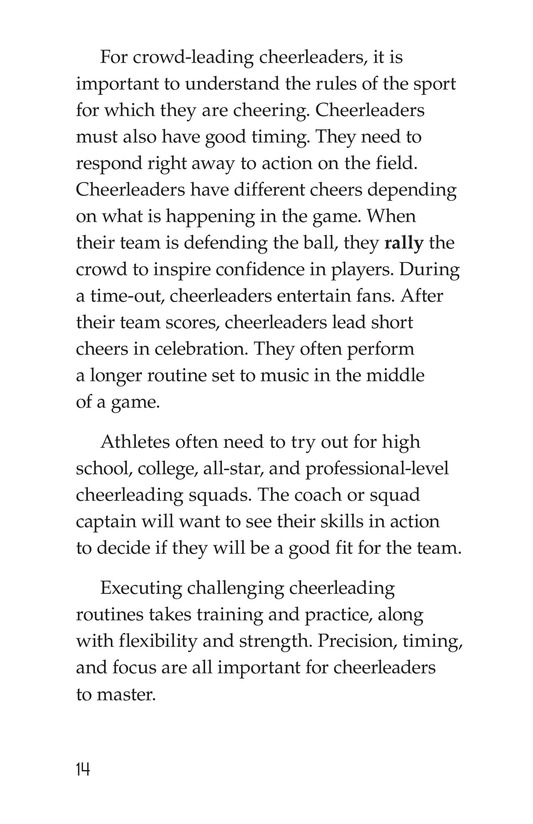 Book Preview For Cheerleading Page 14